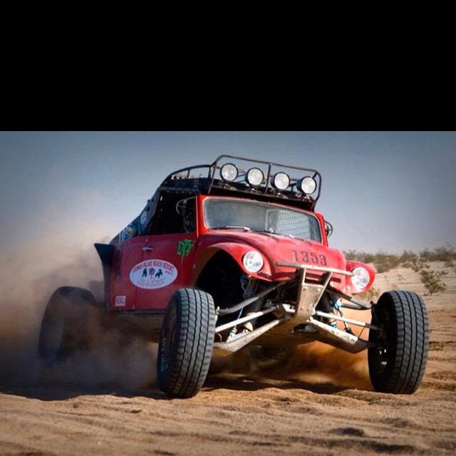 """Red VW desert racer from """"Off-Road"""""""