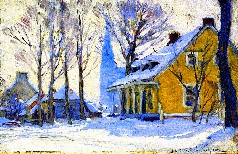 image of Clarence Gagnon painting