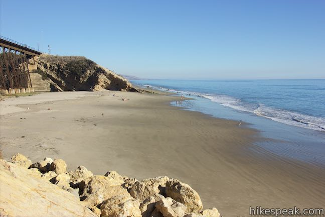 image of Gaviota State Park south of Santa Barbara