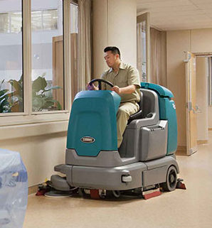 image of hospital floor cleaner