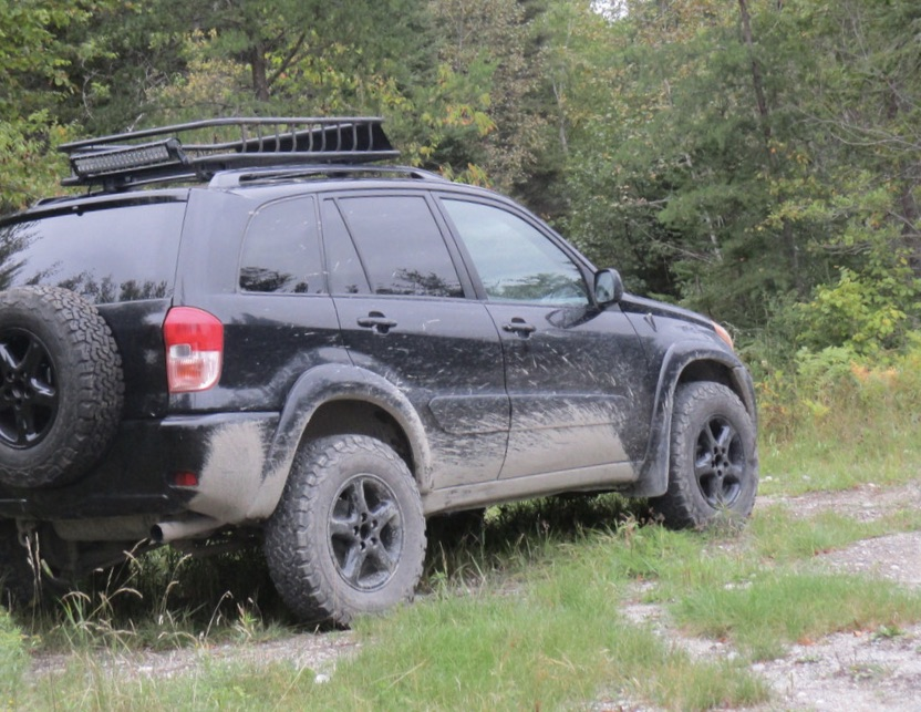 picture of well-traveled Toyota RAV-4