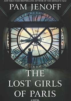 """book cover for """"The Lost Girls of Paris"""""""
