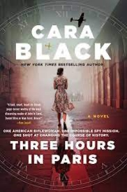 """book cover for """"Three Hours in Paris"""""""